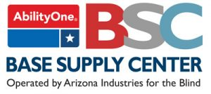 The AIB Base Supply Center Logo